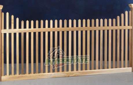 Cedar Spaced Picket